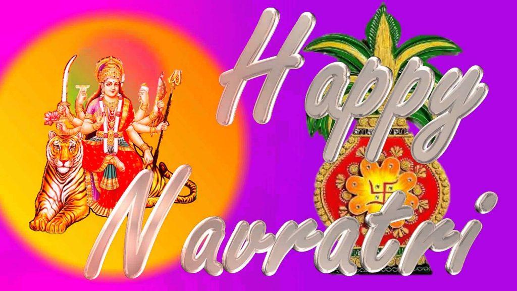 Happy Navratri Wishing Photos